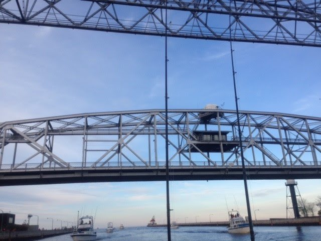 Happy Hooker Charters Duluth MN Aerial Lift Bridge